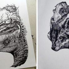 Интересные идеи рисунков карандашом (33 фото)