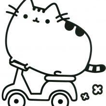 Милые картинки для срисовки кот Пушин (31 фото)