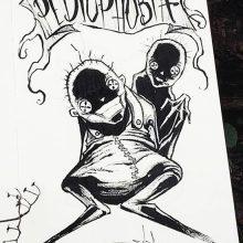 Рисунки фобий для срисовки (27 фото)