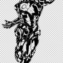 Рисунки карандашом для срисовки супергерои (34 фото)