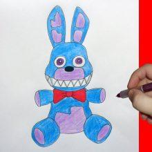 Рисунки фнаф для срисовки Той Бонни (21 фото)
