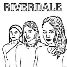 Картинки Ривердейл для срисовки (28 фото)