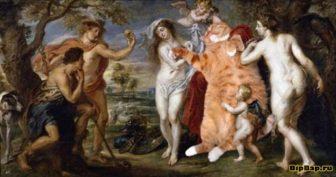 Кошки в классических картинах