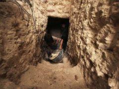 Система подземных укрытий сирийских повстанцев (20 фото)