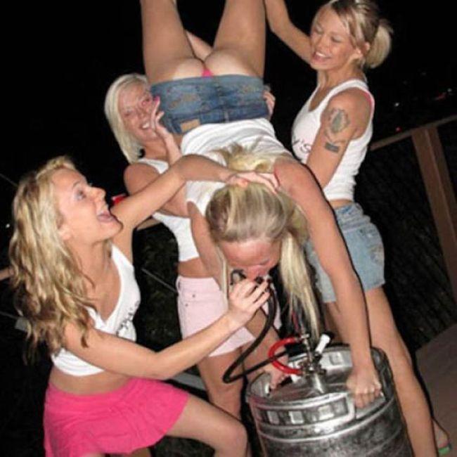 фото с пянных вечериннк