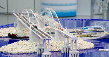 выставка макет моста