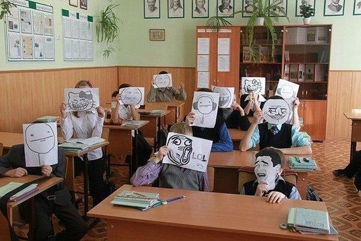 Статусы в школьном классе