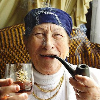 фото бабушек в очках