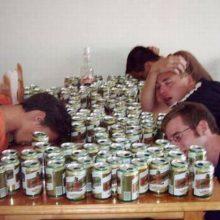 Смешные картинки пьяных людей. (11 фото)