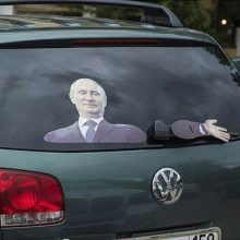 Прикольные наклейки на авто. (12 фото)