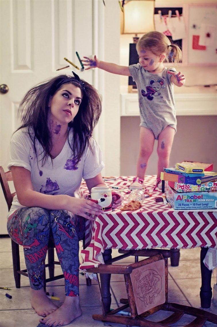 смешные картинки мама и дети