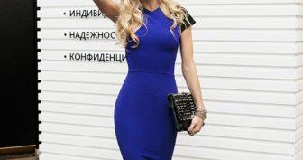 Платья Веры Брежневой. (12 фото)