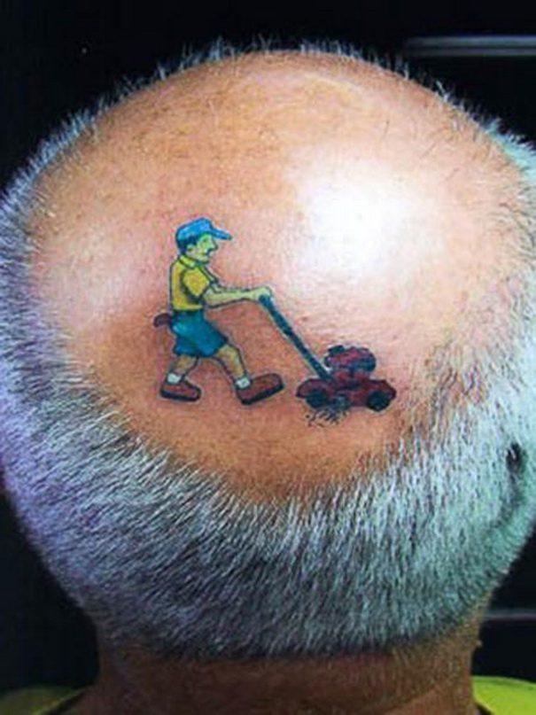 Grass-Tattoo