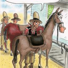 Анекдоты про ковбоев