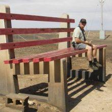 Прикольные скамейки. (13 фото)