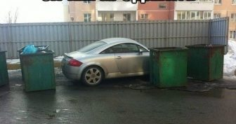 Автомобильные приколы. (11 фото)
