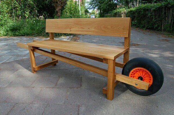 Оригинальная мебель для дачи