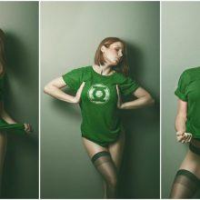 Девушки в костюмах супергероев. (11 фото)