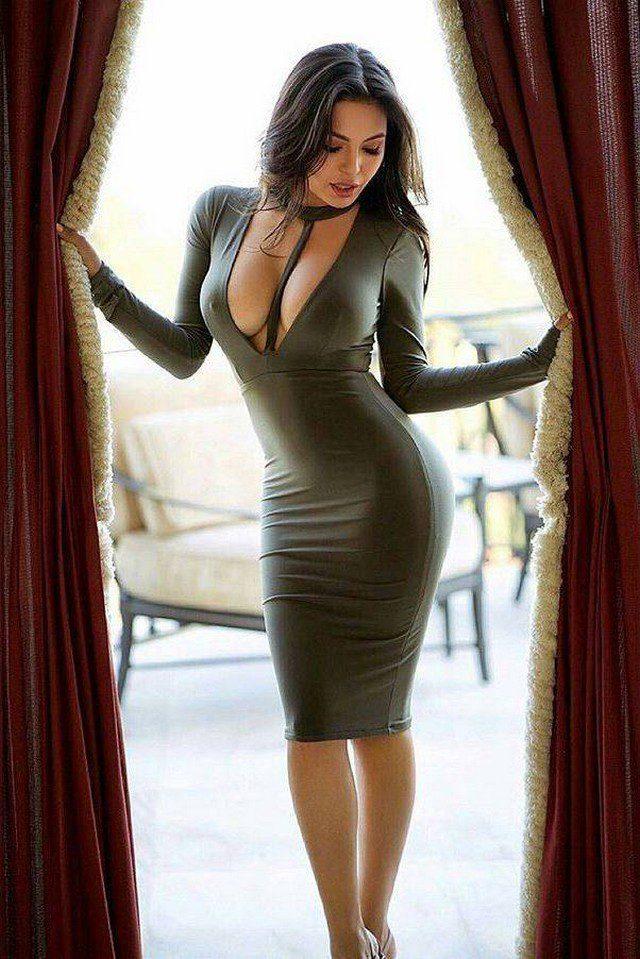 Фото девушек в сексуальных платьях