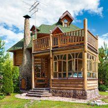 Красивые деревянные дома. (11 фото)