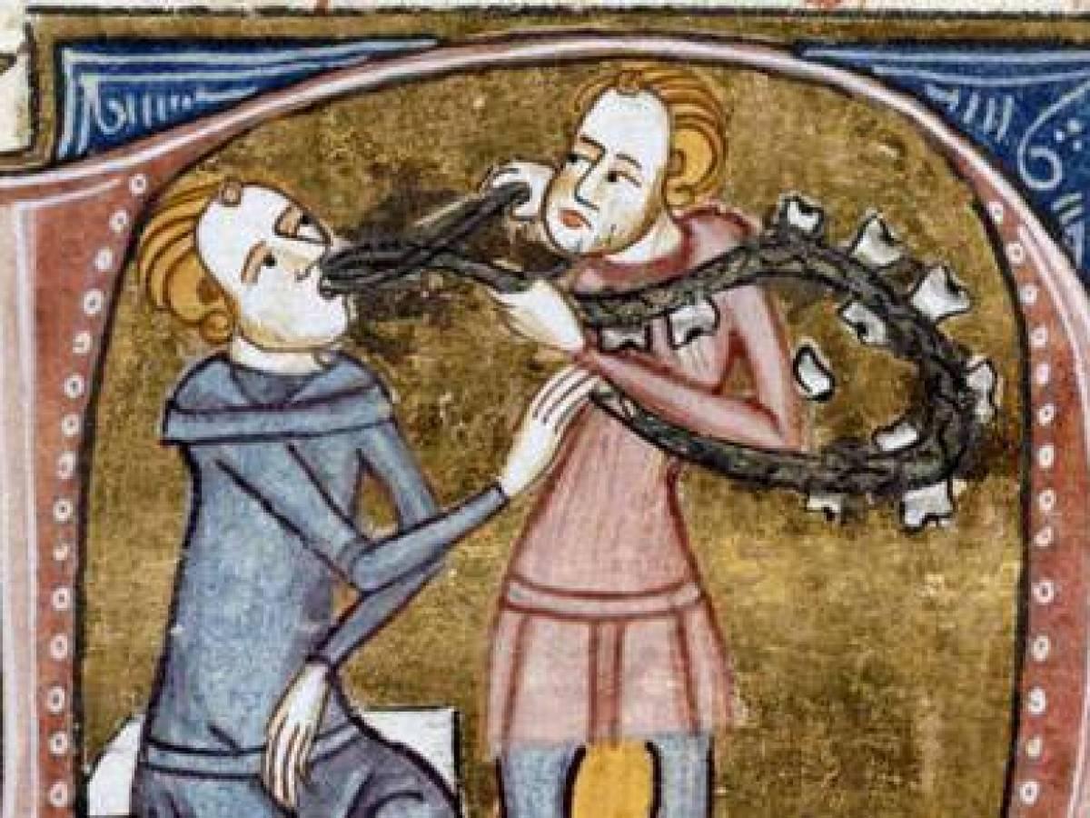 Как в средневековье чистили зубы