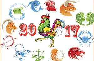 Цветной петух для поздравлений в социальных сетях