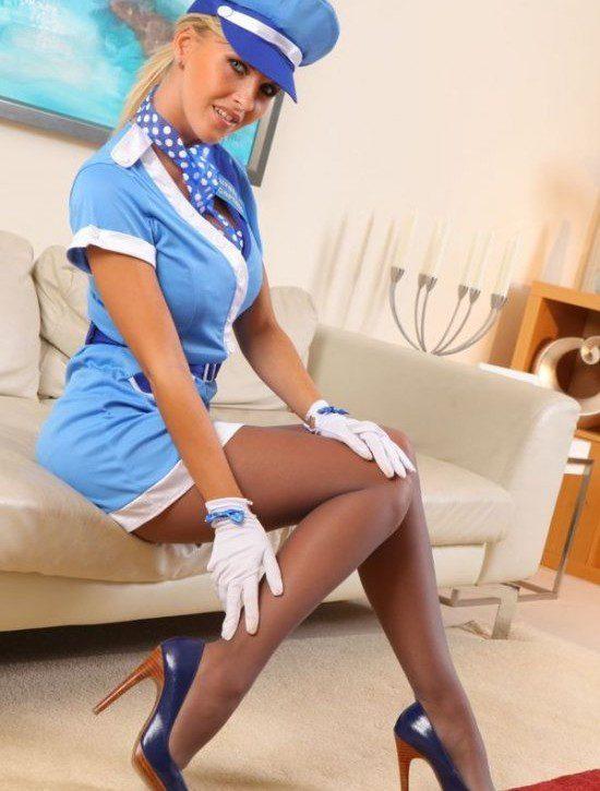 Эротические фотографии стюардессы фото 117-897