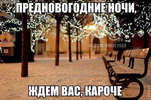 Новогодние ночи - ждем вас короче.