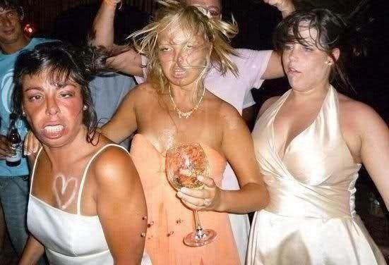 Корпоратив и пьяные девки