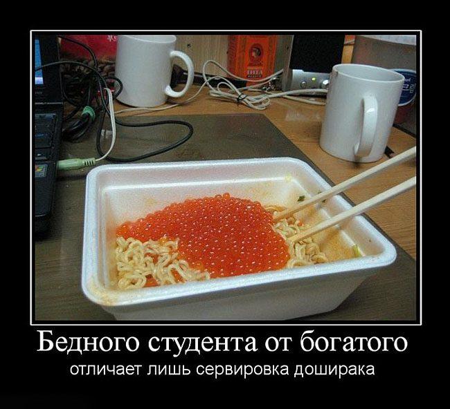 Званый ужин студента