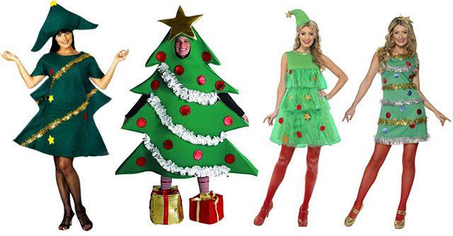 Новогодние костюмы своими рукам для взрослых