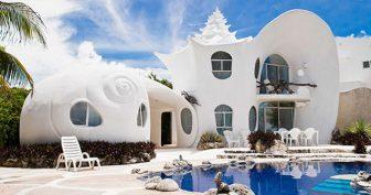Красивые дома на островах (39 фото)