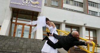 Прикольные картинки про свадьбу (65 фото)