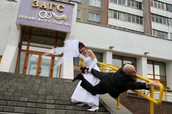 Прикольные фото на свадьбах