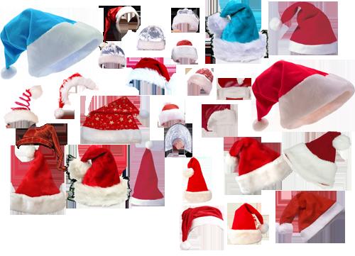 Как сделать в фотошопе новогоднюю шапку