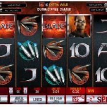 Игровой автомат онлайн Blade.