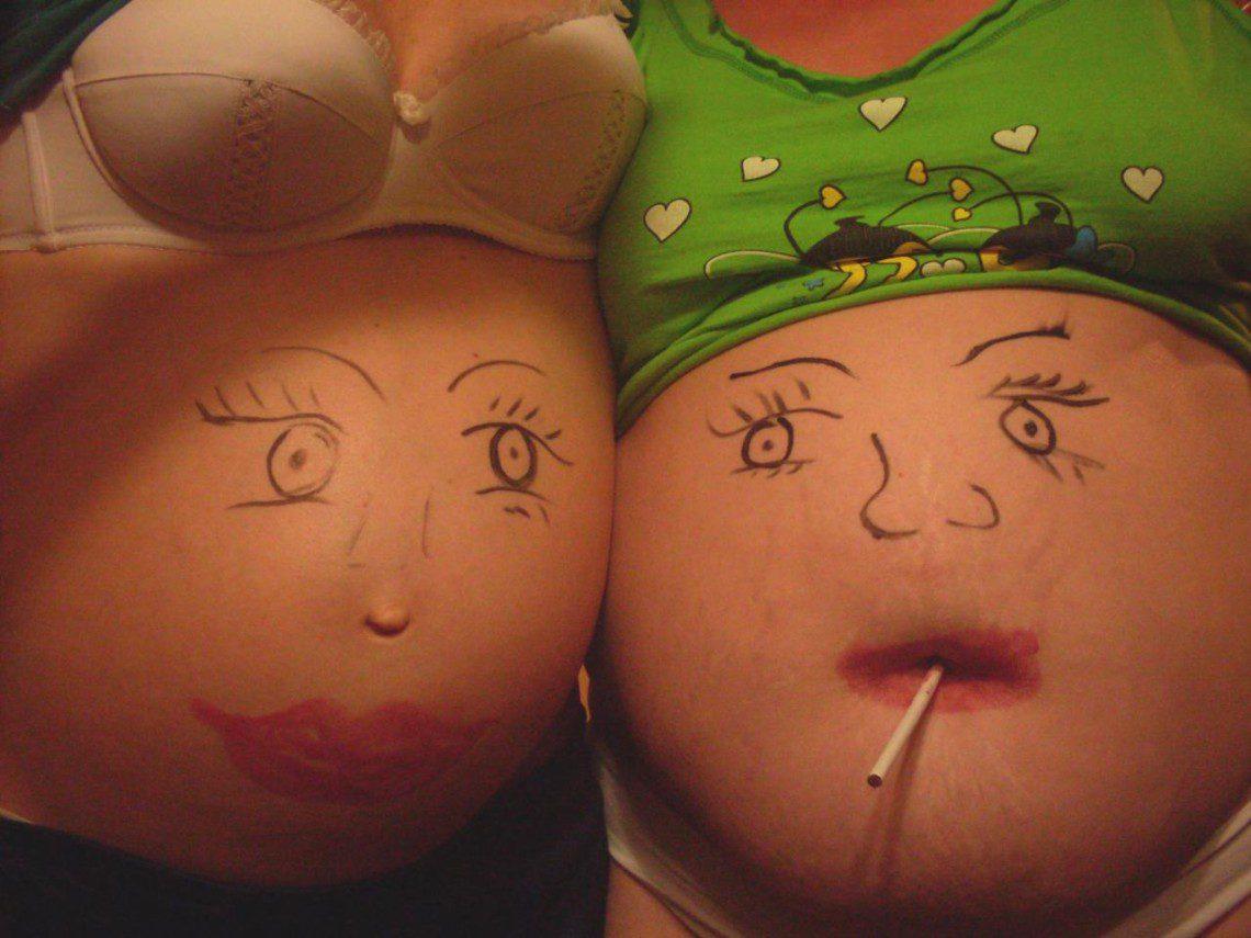 Все хотят потрогать мой беременный живот