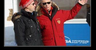 Прикольные картинки про Путина (35 фото)