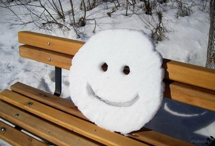 Прикольн картинки про зиму