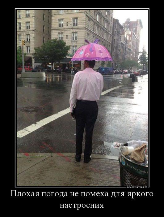 Картинки про плохую погоду смешные (17 фото)