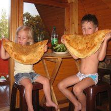 Прикольные картинки про еду с детьми (23 фото)