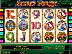 Secret Forest — играть на деньги или на бесплатной основе?