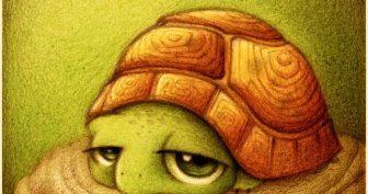 Прикольные картинки про животных рисованные (35 фото)
