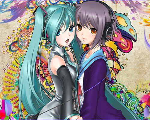 красивые картинки девушек аниме из мультиков