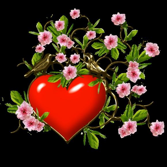 Два любящих сердца картинки