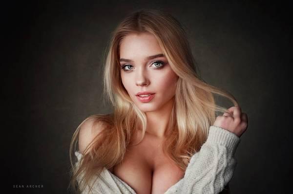 Красивые девушки блондинки картинки юмор