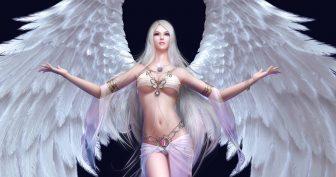 Красивые картинки ангелов с крыльями (37 фото)