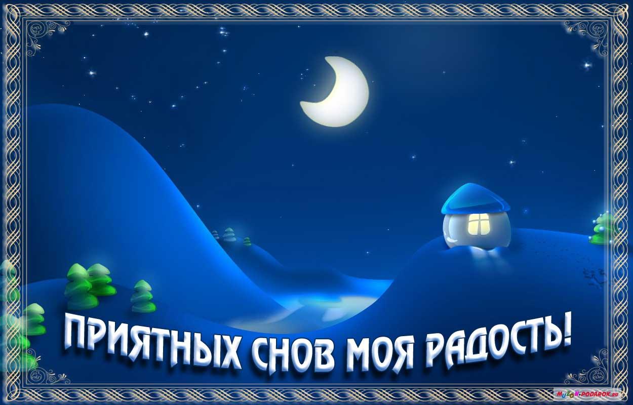 Спокойной ночи и сладких снов картинки прикольные 1