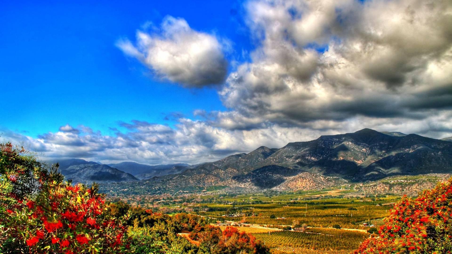 Горы красивый пейзаж