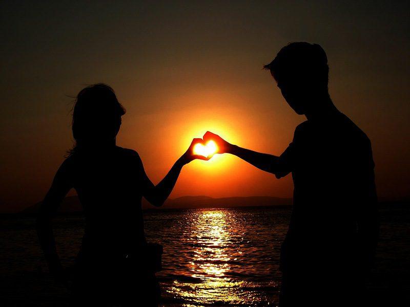 Красивые картинки два сердца